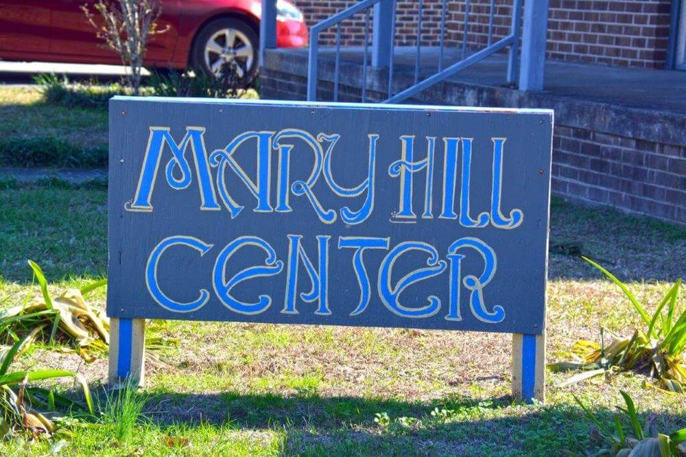 Mary Hill Center sign